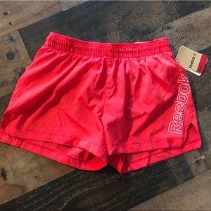 Reebok xs hibiscus athletic active shorts